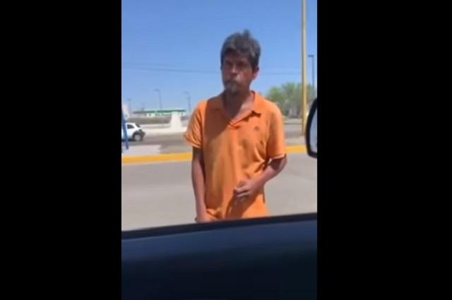 Video: Hombre pide dinero y rechaza trabajo porque no le gusta chambear