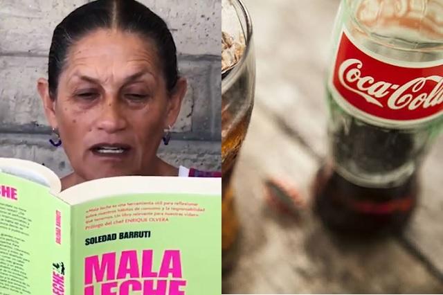Propone senadora de Morena expulsar a Coca-Cola del país