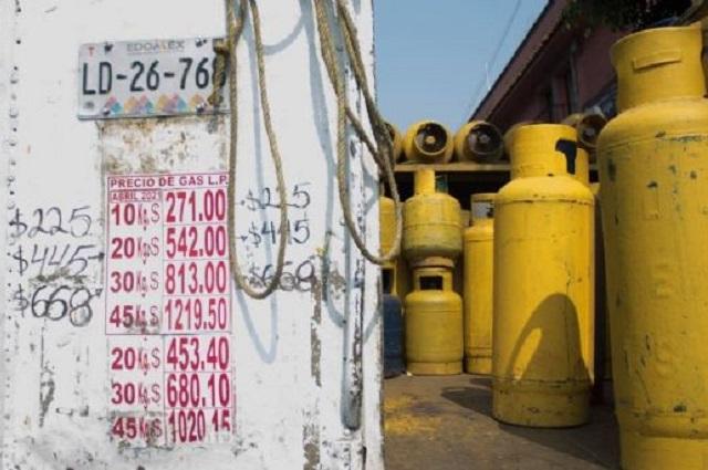 Piden fijar precios máximos sobre gas LP