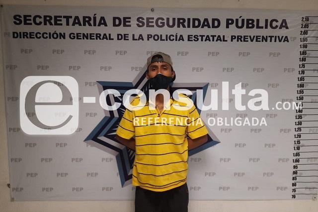 Policías estatales pierden a detenido en la México- Puebla