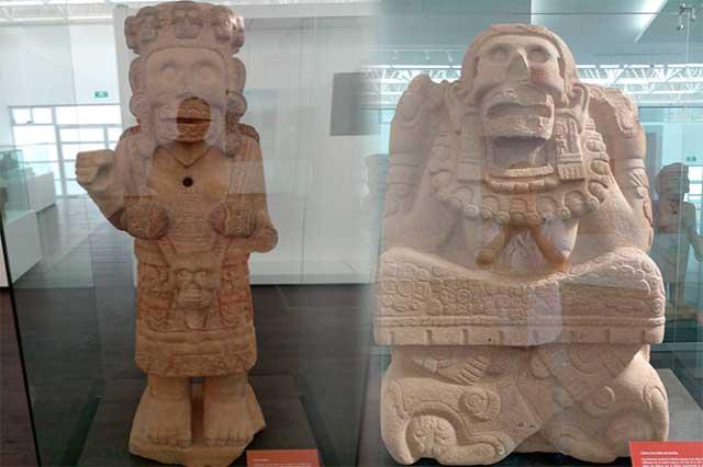 Presta museo en Tehuacán cinco piezas al INAH