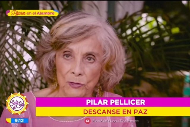 Hija de Pilar Pellicer da detalles de la muerte de su madre
