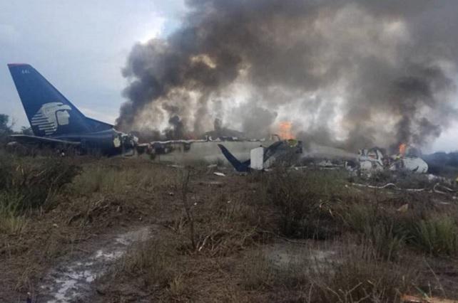 Piloto de avión que se desplomó, el único que se encuentra grave