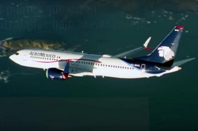 Pilotos aceptan 5.15% de aumento y no habrá huelga en Aeroméxico