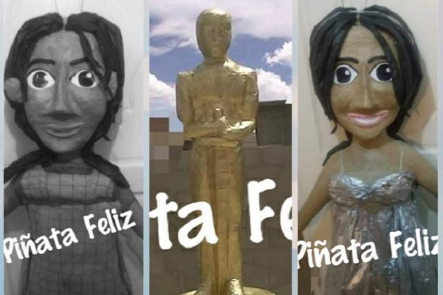 Yalitza Aparicio ya tiene su propia piñata