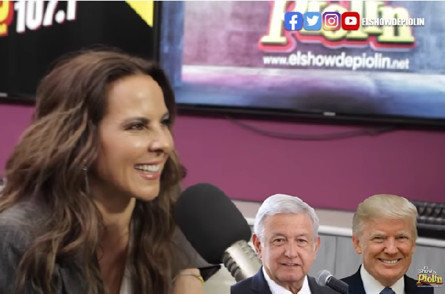 Kate del Castillo prefiere un balazo que a López Obrador o Donald Trump