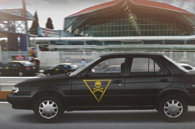Van por penas severas para taxistas pirata en Puebla