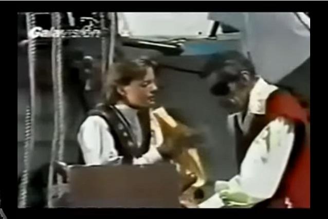 Luis Miguel actuó junto a Don Ramón en una historia de piratas de Televisa