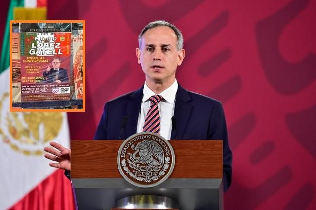 Mercados de Tepito ya venden las conferencias de Hugo López-Gatell