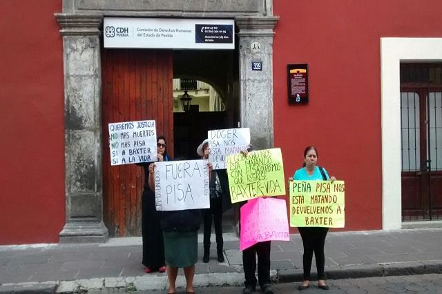 Pacientes del IMSS piden a la CDH intervenga en quejas contra diálisis