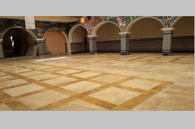Palacio Municipal de Atlixco estrena piso