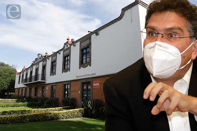 Ríos Piter defiende su rectoría y pide serenidad a comunidad universitaria