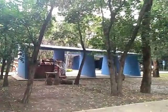 Dejan en el olvido locales comerciales del Parque Juárez