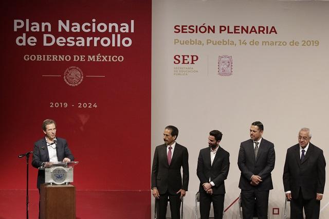 Tendrá Plan Nacional de Desarrollo un sello poblano: Moctezuma