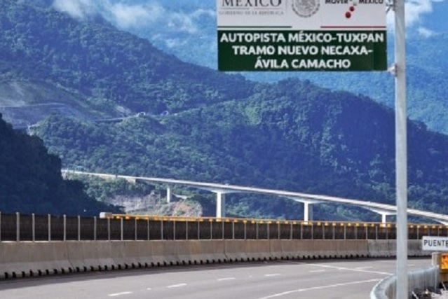 Planean nuevos entronques para la Méxco-Tuxpan, en Huauchinango