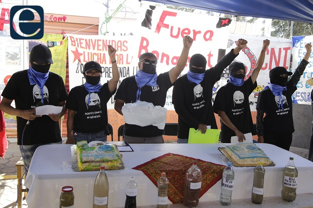 Pobladores de Juan C Bonilla no temen a denuncias de Bonafont