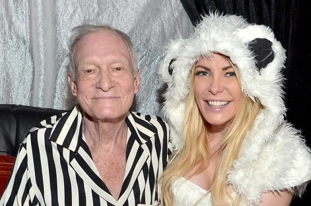 Playboy: Hugh Hefner sí dejó millonaria herencia a su esposa Crystal Harris