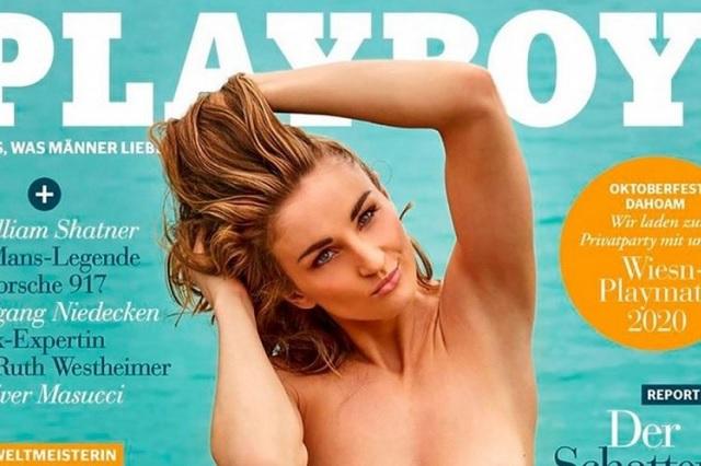 Playboy trata de 'innovar' y usa como portada a atleta paralímpica