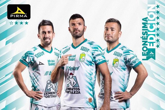 Nuevo uniforme de León rinde homenaje a personal de salud