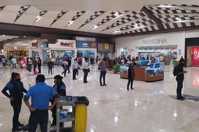 Vuelven a la actividad más de 10 mil negocios en Puebla