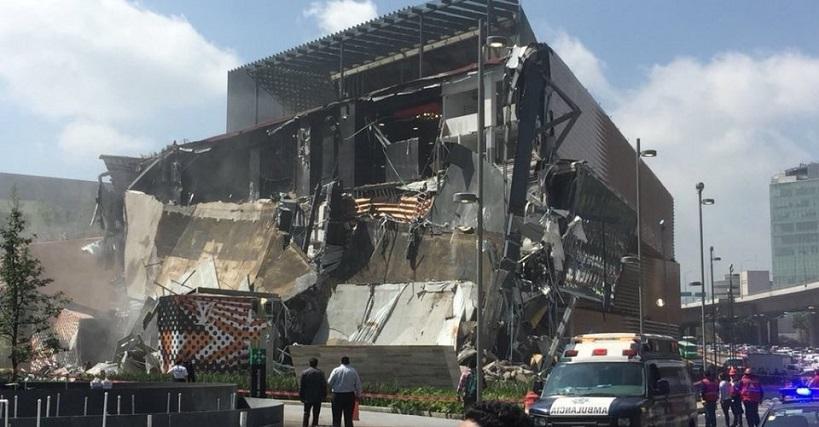Falla en cálculo estructural provocó colapso en Plaza Artz Pedregal
