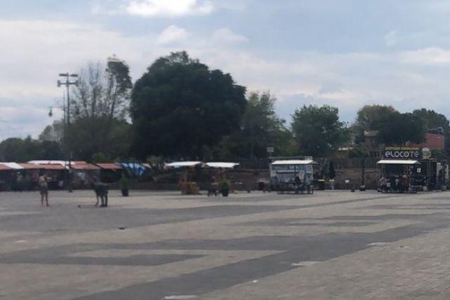 Paola Angón mandó a retirar los Food Trucks del parque Soria