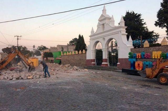Buscan restaurar plaza principal de Tonantzintla, prevén consulta