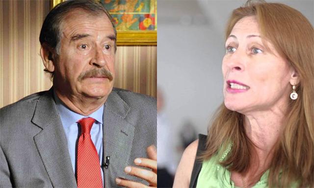Vicente Fox y Tatiana Clouthier intercambian insultos en Twitter