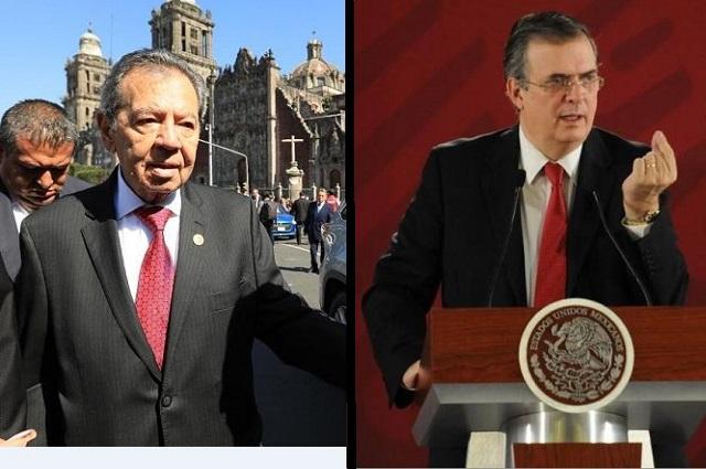 Llama Monreal a Ebrard y Muñoz Ledo a parar su pleito en Morena