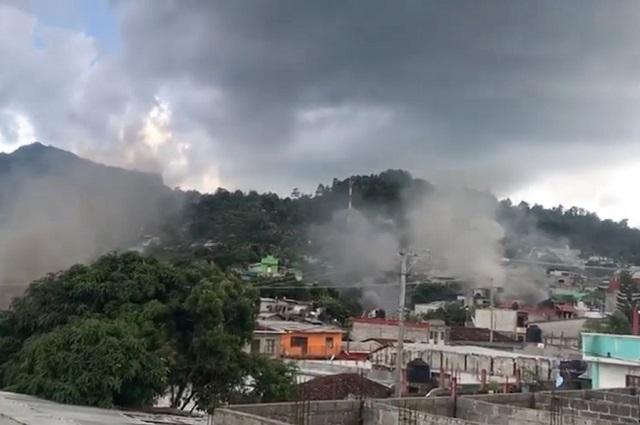 Pobladores queman10 casas en Pantheló, Chiapas