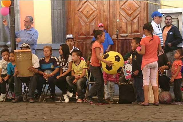 En festival, pobladores de Jolalpan recuerdan al niño José Luis Tlehuatle