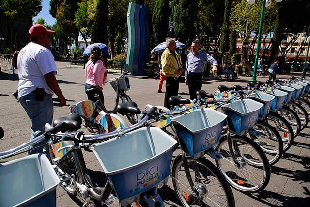 Ayuntamiento de Puebla participa en el Día Poblano Sin Coche