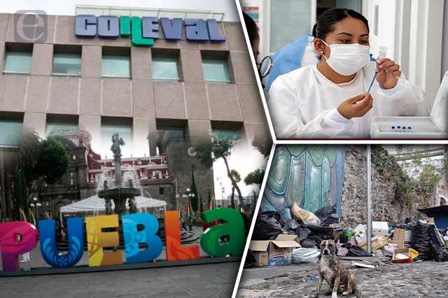Puebla capital, con más pobres y más casos covid: Coneval