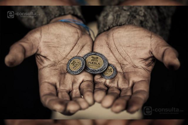 Pobreza en Puebla aumentará hasta 20%