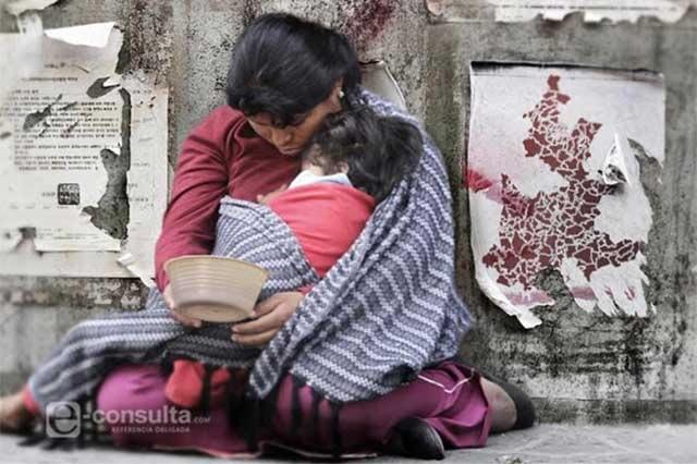 En riesgo de caer en pobreza 23% más de poblanos: Coneval