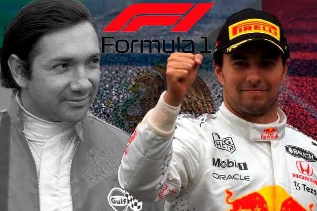 Los 20 podios que ha conseguido México dentro de la Fórmula 1