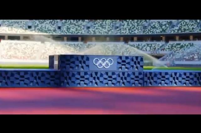 Juegos de Tokio 2020 presenta novedosos podios hechos de plástico reciclado