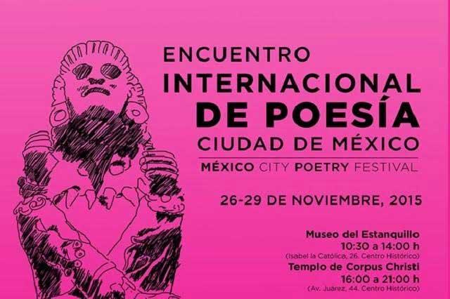 Mexico City Poetry Festival un encuentro Internacional de Poesía