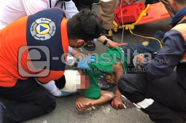 Patrulla atropella a niño en La Margarita durante balacera