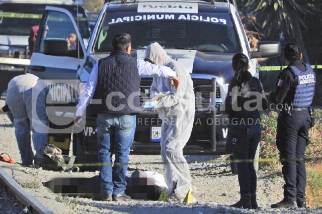 Matan a una mujer frente al panteón de Xochimehuacán