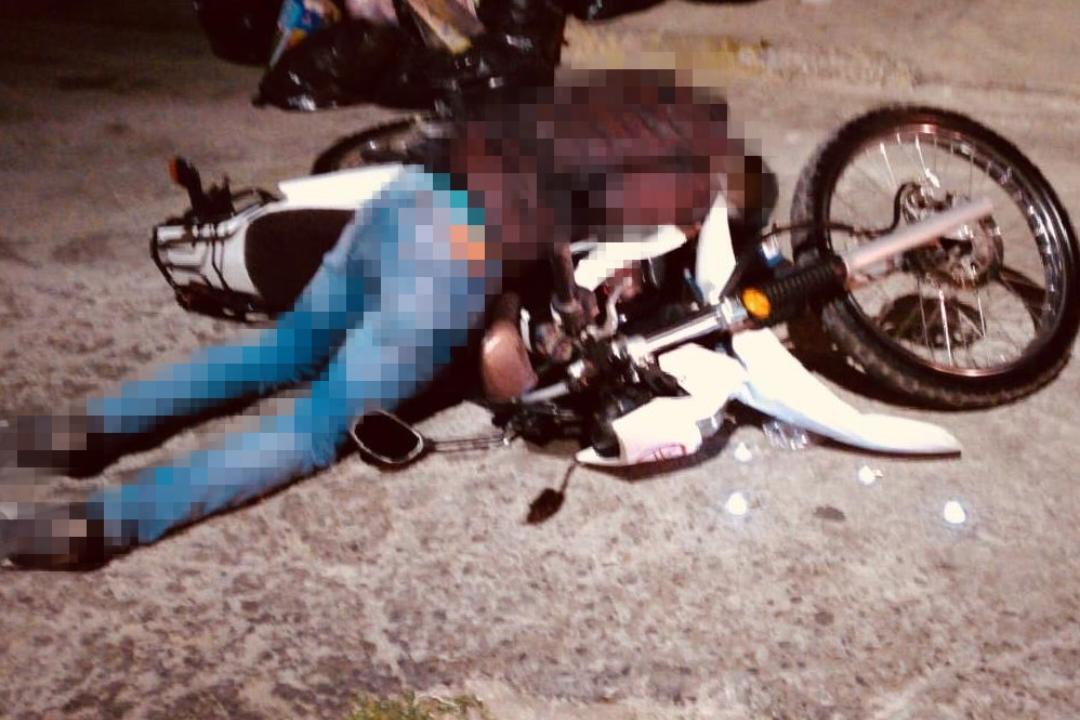 Acribillan a motociclista en calle de San Martín Texmelucan