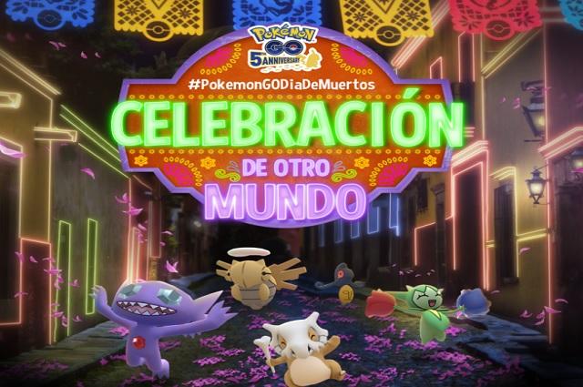 Pokémon GO realiza evento especial por Día de Muertos