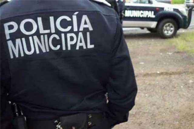 Dan de baja a policías de San Andrés Cholula por protestas