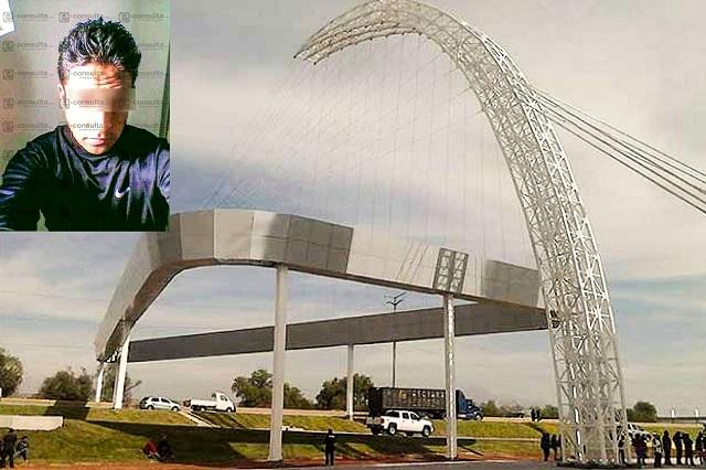 Policía Estatal se suicida en el arco de seguridad de Cuapiaxtla