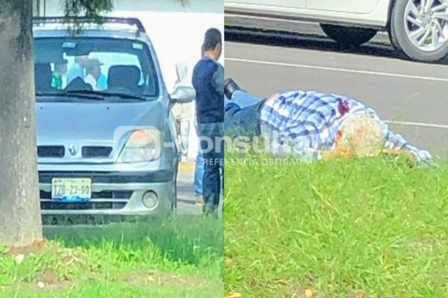 A balazos asesinan a un hombre en la colonia Anzures, en Puebla