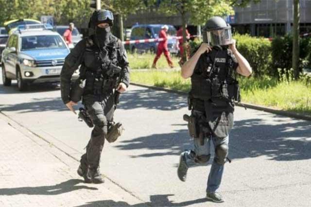 La policía alemana mata a un sujeto que se atrincheró en un cine