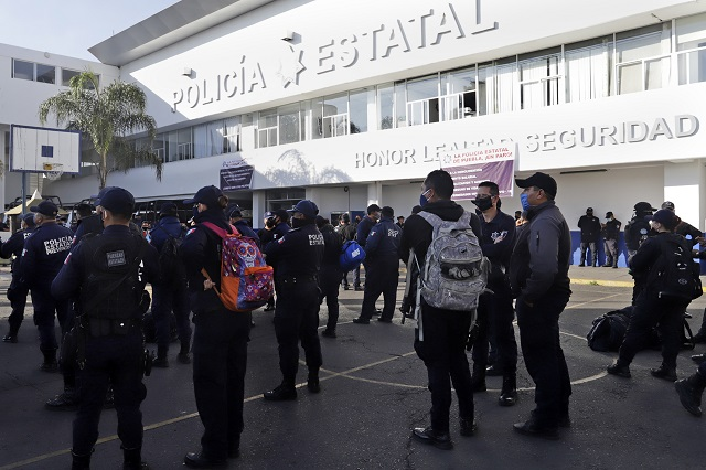 Adeudan pago de seguro a 19 policías estatales muertos desde julio