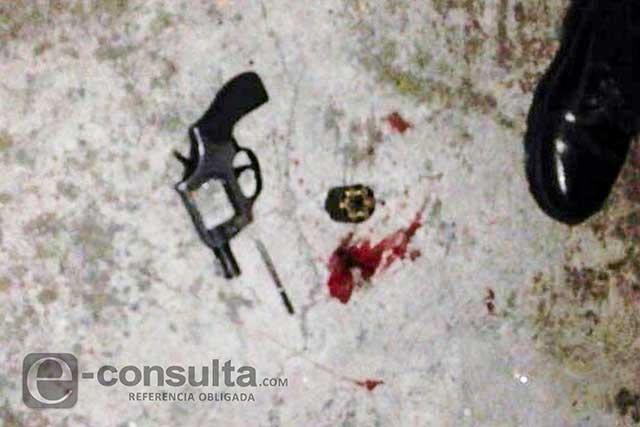 Su pareja la mata a balazos en Amozoc