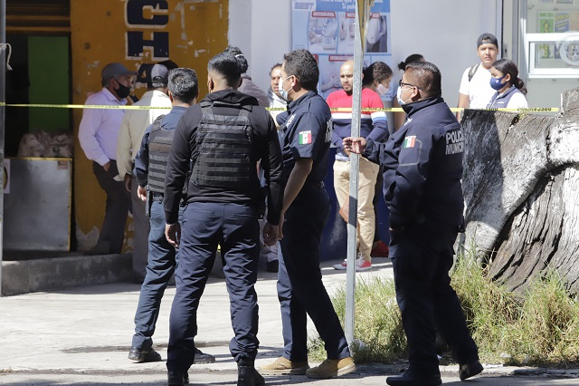 Comida a precio de garnacha a policías, planea Canirac Puebla