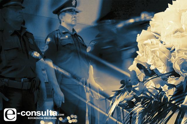 Crimen abate a 27 policías en Puebla en apenas 18 meses